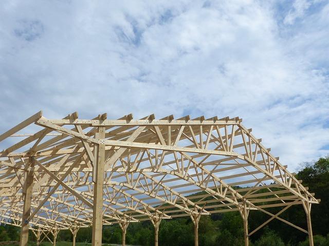 charpente en bois à Angers